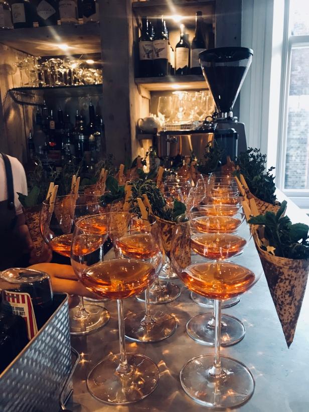The Florist Liverpool cocktails